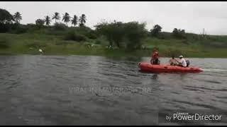सूस्ते : मराठा आरक्षणासाठी मराठा युवकाचा जल समाधी घेण्याचा प्रयत्न