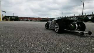 Test N Tune. 132ft drag race