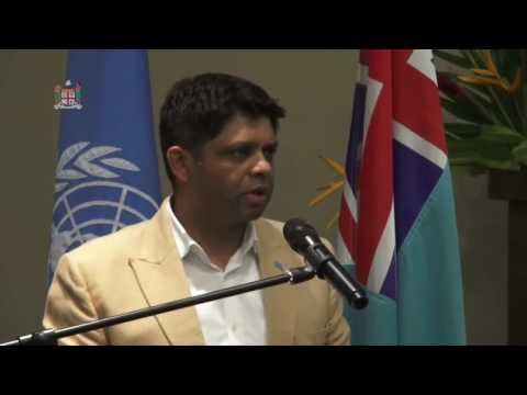 Fijian Acting Prime Minister officiates at the UN Pacific Strategy Consultation