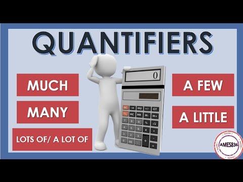 Quantifiers : English Grammar