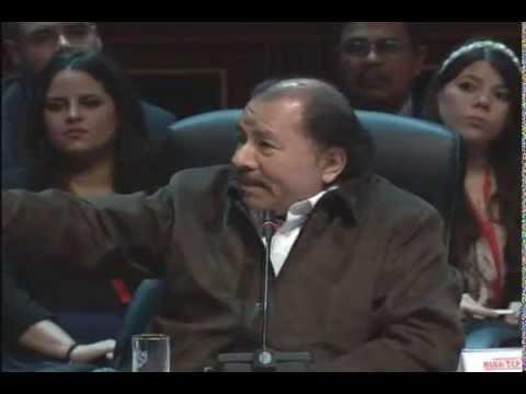 Intervención del Presidente de Nicaragua, Daniel Ortega Saavedra