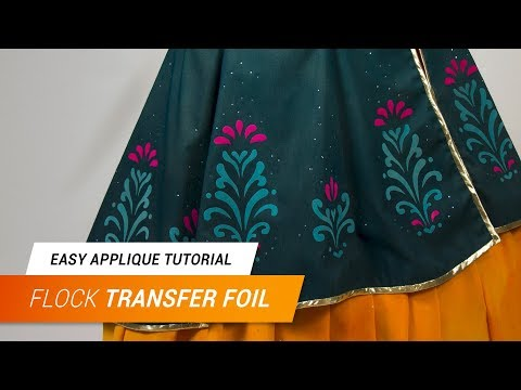 Easy Appliques with flock transfer foil | Jak Cosplay
