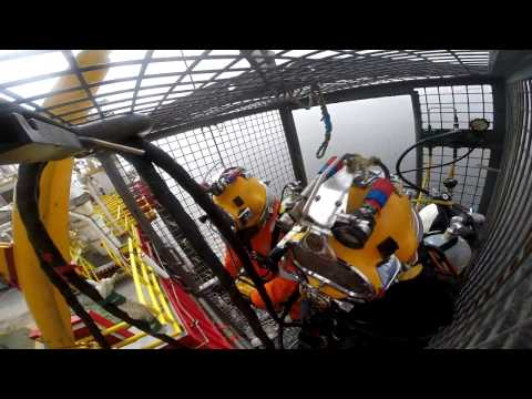 Thruster project Namibia 2016 by Trident Diving