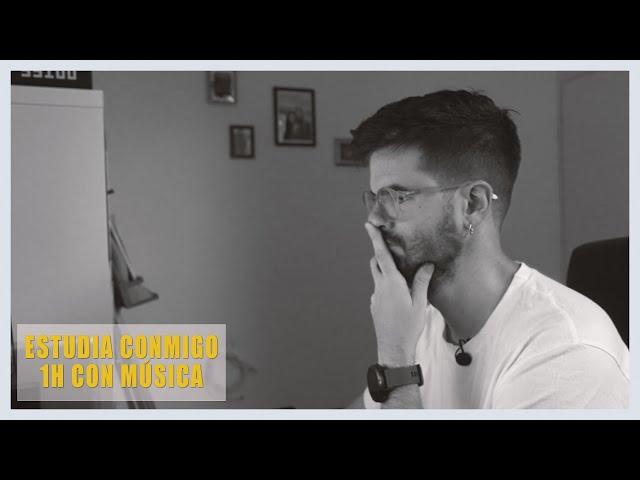 📚 ESTUDIA CONMIGO (1H CON MÚSICA - SIN DESCANSOS) | Diario de un MIR | Estudiar Medicina