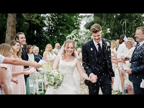 YouTubers Tanya Burr & Jim Chapman are MARRIED!