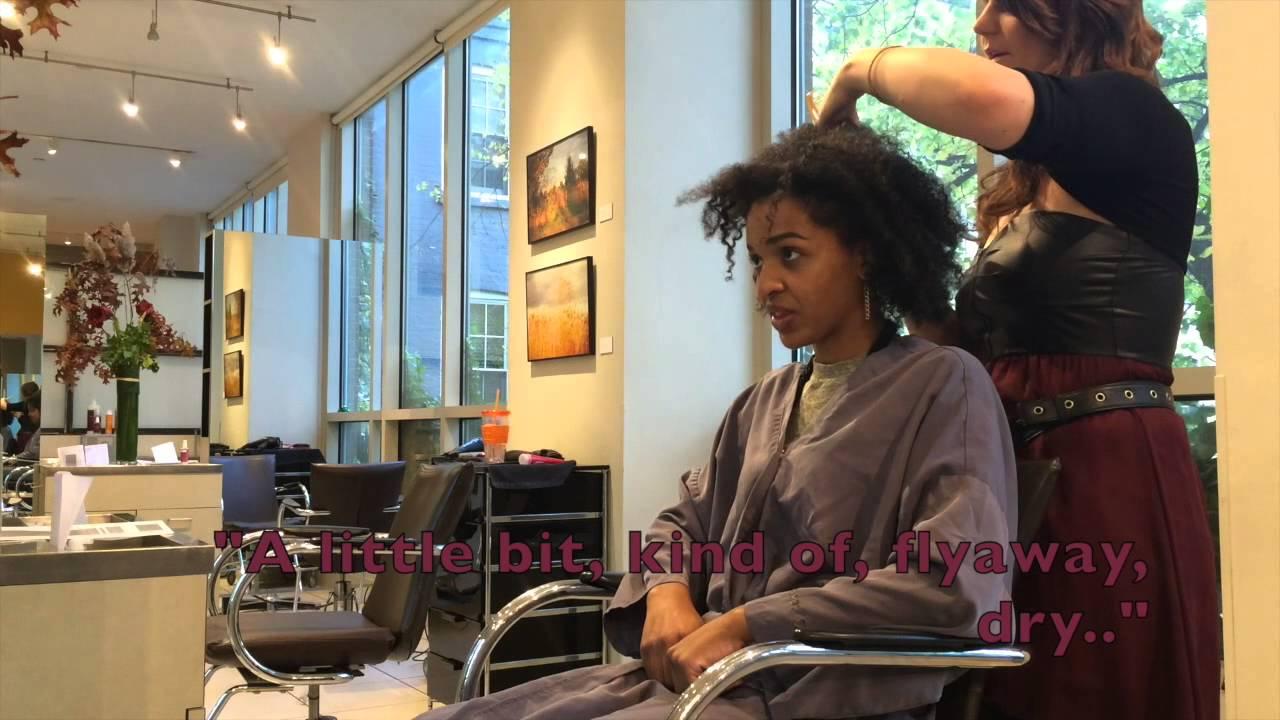 Home Spa Design Ideas: Natural Hair Trimmed At Manhattan Salon