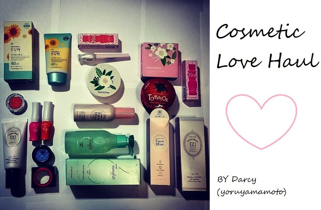 COSMETIC LOVE HAUL♥Korean Beauty/Cosmetic Haul ETUDE, INNISFREE, ETC