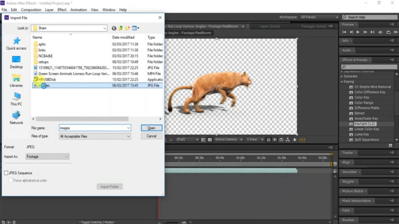 How To Change Video Background In Adobe After Effects