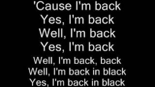 AC/DC-Back in Black Lyrics