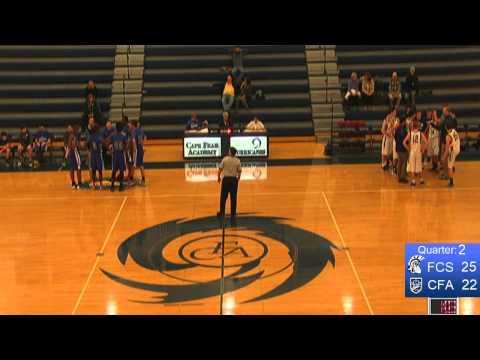 CFA JV Boys vs. Fayetteville Christian School