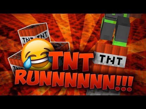 KAN JEG VINDE 3 I TRÆK?! - TNT Run - Dansk Minecraft