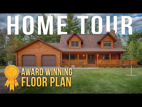 tour-a-2000-square-feet-award-winning-log-home!