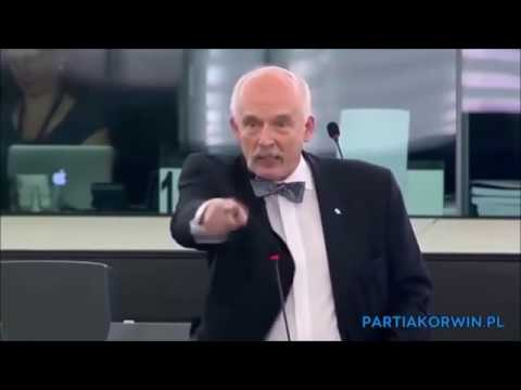 Janusz Korwin Mikke massacring the left side - The best of 2016 CC Subtitles English