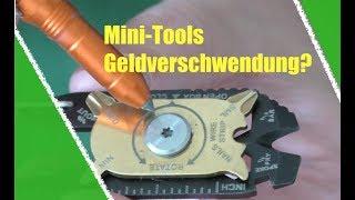 Warum Mini-Tools nicht so toll sind!?