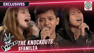 Team Lea Knockout Rehearsal: Tina vs Kristian vs Airene | The Voice Teens Philippines 2020