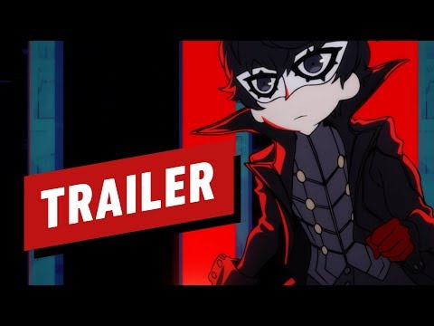Persona Q2: New Cinema Labyrinth - Opening Cinematic (English)