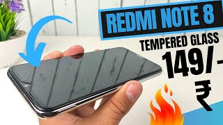 Redmi Note 8 Tempered Glass | Full Screen Tempered Glass for Redmi Note 8