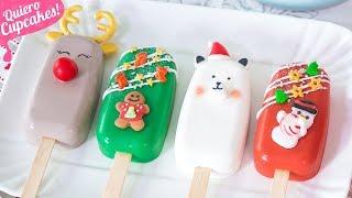 PALETAS DE NAVIDAD | POPSICLE | Quiero Cupcakes!