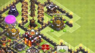 Clash of Clans   No 1 BEST TH9 FARMING BASE 2017  PROOF   CoC NEW Town Hall 9 Base with Bomb Tower x
