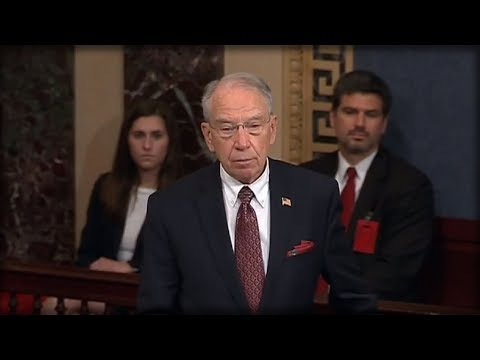 BREAKING: GRASSLEY SMACKS GLOATING LIBS, GIVES CHILLING WARNING TO DEMS ABOUT WHAT'S COMING NEXT