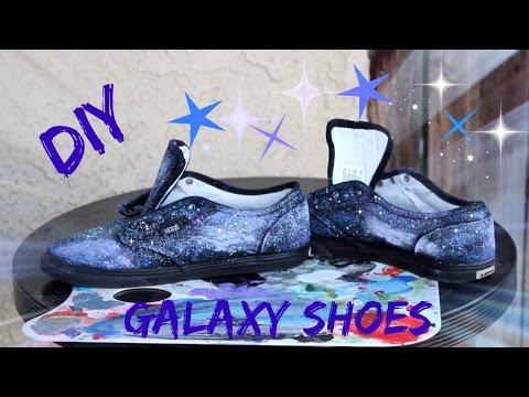 DIY Galaxy Shoes | Tutorial