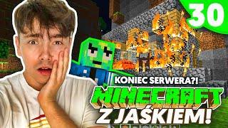 DLACZEGO TO KONIEC SERWERA? - Minecraft z Jaśkiem #30 | JDABROWSKY