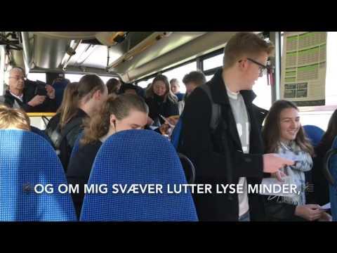 Flash mob i bussen fra Assens til Glamsbjerg