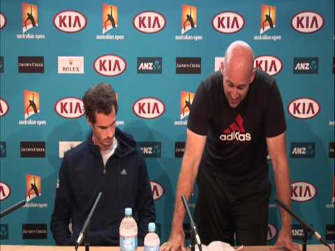 Andy Murray, Jez Green, Ivan Lendl And 'The Confession' - Australian Open 2013