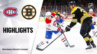 Nhl Highlights | Canadiens @ Bruins 2/12/20