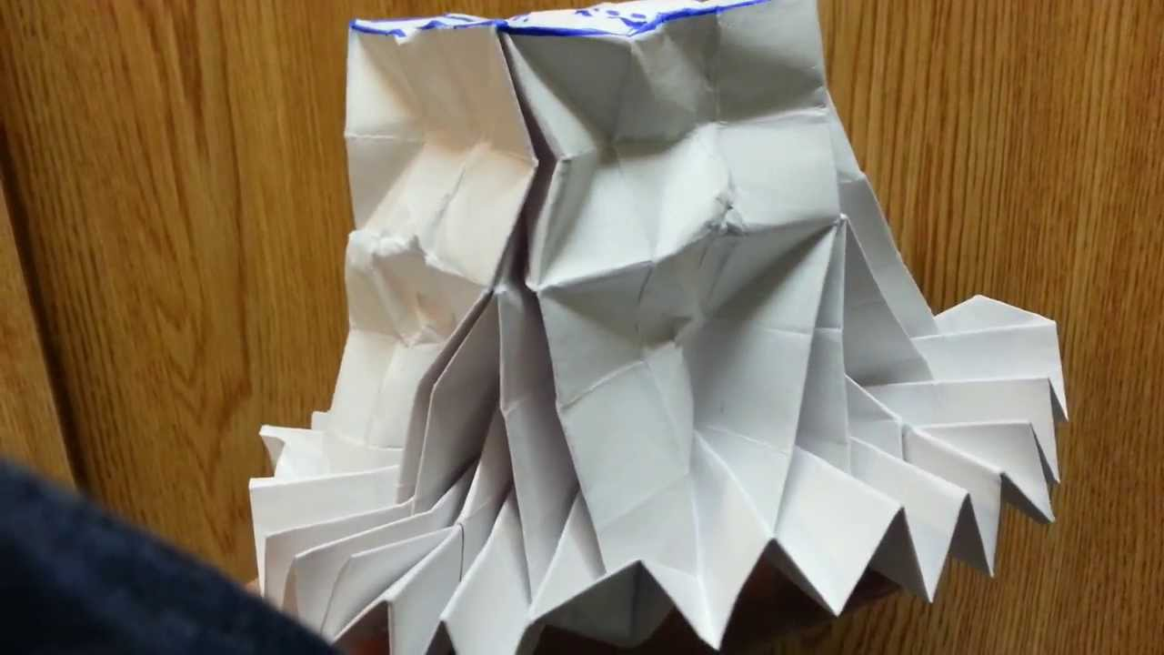 Origami Flasher Top Hat, Designed By Jeremy Shafer - Not A ... - photo#6