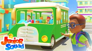 Wheels On The Bus | Bus Song For Children | Nursery Rhymes and Kids Song