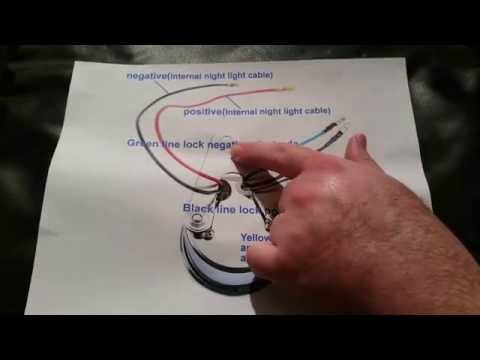 $12 ebay tachometer - wiring diagram explained - mini bike scooter - youtube