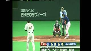 2003 石井弘寿 4  VS  チャイニーズタイペイ  アジア野球選手権2003