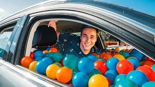 6000 Plastikbälle in Bruder's Auto PRANK   Schinken Brothers
