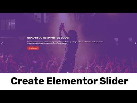 Elementor Slider | Create A Responsive Full Width  WordPress Slider  Using Elementor Pro