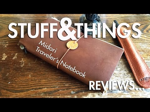 Review: Midori Traveler's Notebook (A Man's Perspective)