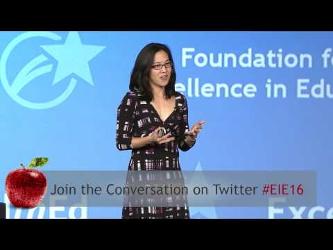 #EIE16: GENERAL SESSION - Grit: The Power of Passion & Perseverance with Angela Duckworth