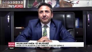 Ahmet AYDIN, TRT Şeş'e Kürtçe Açıklama; Türkiye'nin Barış ve Huzur Ortamı İçin İstikrara İhtiyaç Var