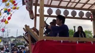 20190420 北金目神社 例大祭 岡村医院前 片岡神社太鼓保存会