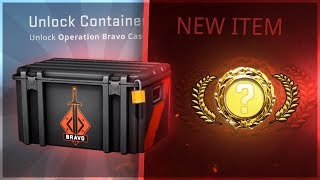I opened 50x Bravo Cases... (and got the best item)