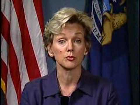 Michigan Governor Jennifer Granholm