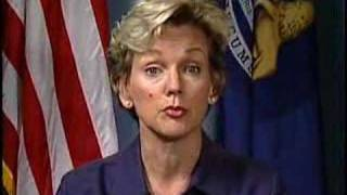 Michigan Governor Jennifer Granholm