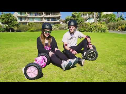 """Swagtron T6 Off-Road Hoverboard with Bluetooth and 10"""" Wheels on QVC"""