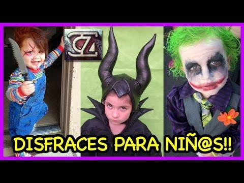 Los mejores DISFRACES para NIÑAS y NIÑOS!! (Halloween costume ideas for children)