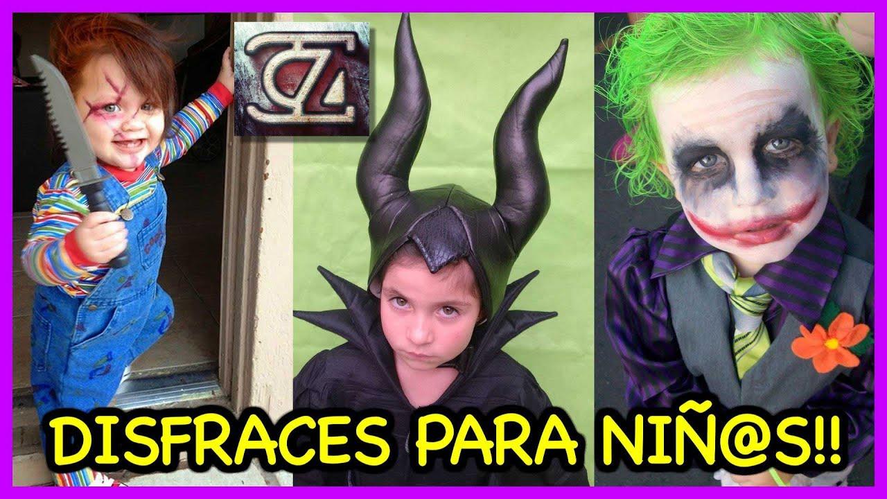 foto de Los mejores DISFRACES para NIÑAS y NIÑOS (Halloween costume ideas for children) YouTube