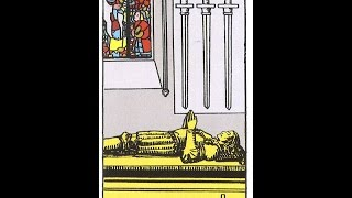 Tarot Tuesday - Four of Swords meaning and symbolism.