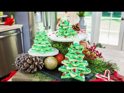 Cookie Christmas Trees - Home & Family