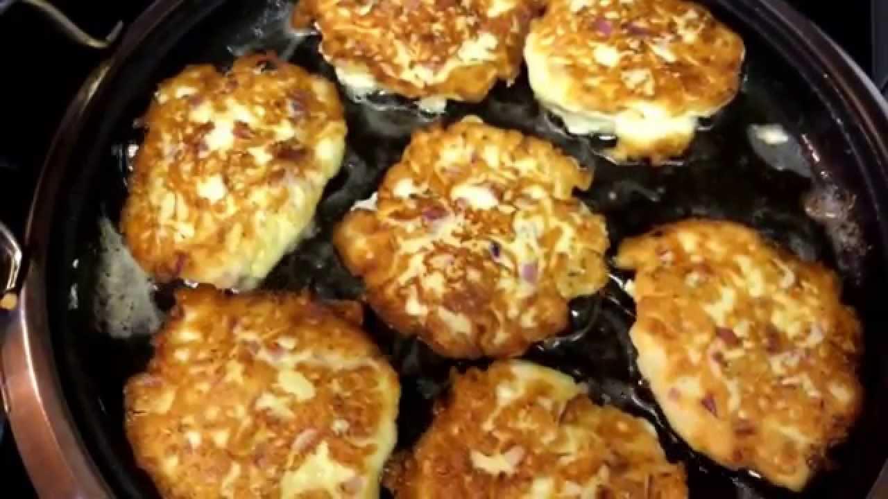 Como hacer tortitas de coliflor