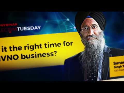 ETTelecom Webinar - Is it the right time for MVNO business?