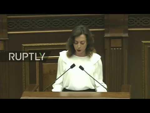 LIVE: Armenian parliament votes on new prime minister
